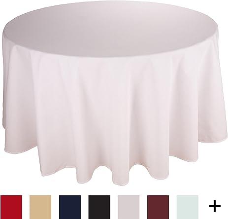 Amazoncom Riegel Permalux Cottonblend 90Inch Round Tablecloth