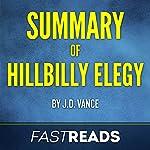 Summary of Hillbilly Elegy | J.D. Vance,FastReads