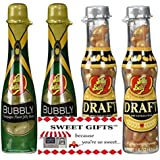 Jelly Belly Draft Beer and Bubbly Champagne Gourmet Jelly Beans - Gift Set by Sweet Gifts