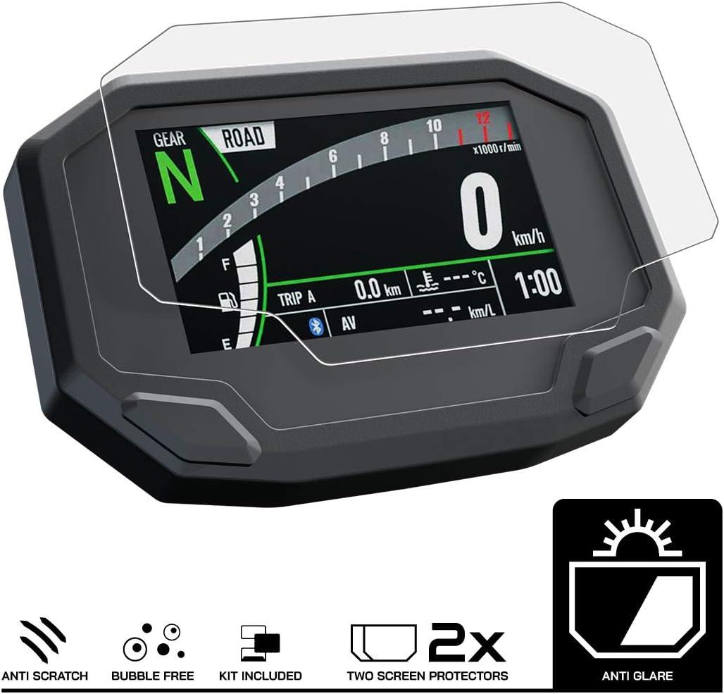 Speedo Angels Displayschutzfolie Tachoschutzfolie Für Z900 2020 2 X Entspiegelt Auto