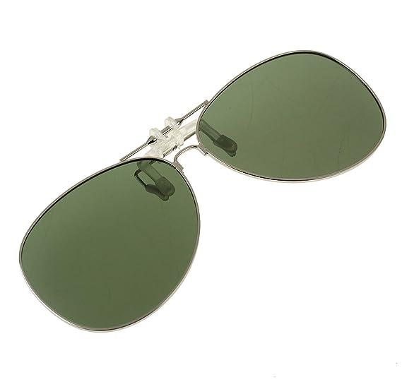 0b5a30e45a8 Jaky Retro Polarized Glasses Clip on Flip up Classic AVIATOR Mens Womens  Sunglasses (BaBi Pink