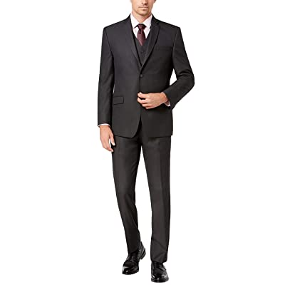 Adam Baker Men's Classic Fit 3-Piece (Jacket, Vets, Trousers) Vested Suit Set - Many Sizes & Colors Available at Amazon Men's Clothing store