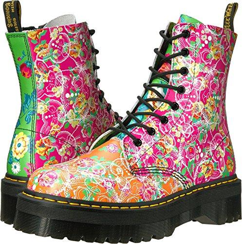 Dr. Martens Women's Jadon Daze Fashion Boot, Multi Daze, 4 Medium UK (6 US) by Dr. Martens