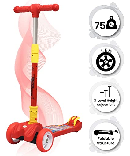 33884a1e18432 R for Rabbit Road Runner Scooter for Kids - The Smart Kick Scooter for Kids  with Adjustable ...