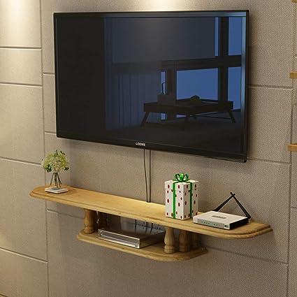 Amazon Com Wall Shelf Floating Shelf Wall Mounted Tv Cabinet Tv
