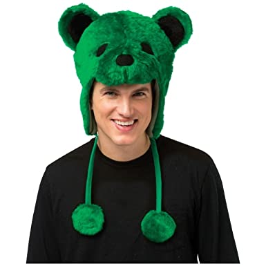 Grateful Dead Bear Hat Costume Accessory  sc 1 st  Amazon.com & Amazon.com: Grateful Dead Bear Hat Costume Accessory: Clothing