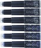 Cross Fountain Pen Cartridge Ink Refills, Blue/Black Ink Cartridges, 6 per card (8924)