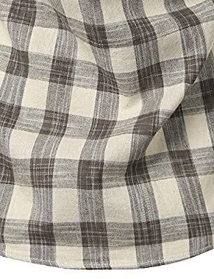 Mens Hipster Plaid Slim Fit Long Sleeve Button Down Dress Shirt/Checkered Tops