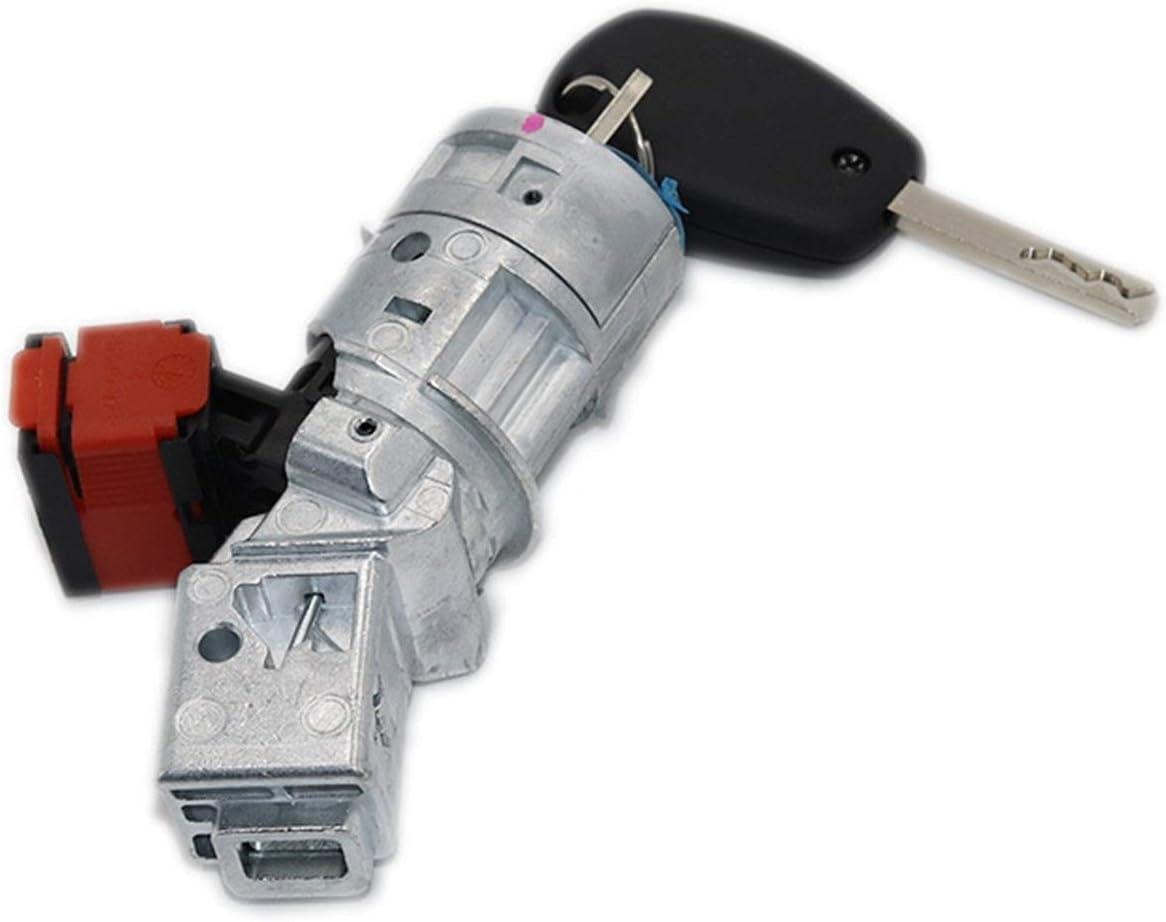 Color : Switch RJJX Z/ündschloss Fit for Renault Clio MK3 Modus Kangoo Twingo 2005-2012 Z/ündschloss Schl/üssel 8200214168 7701208408 N0502057 N0502060