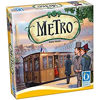 Metro - Family Board Game (2-6 Player)