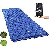 Sleeping Mat Ultralight Inflatable Sleeping Pad, Compact Camping Sleeping Pad Lightweight for Backpacking, Traveling, Hiking, Hammock