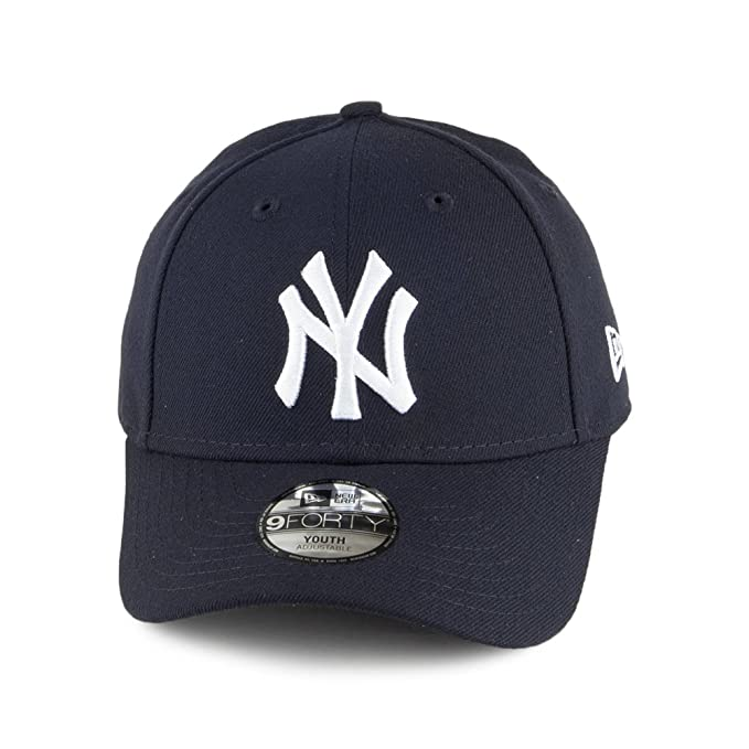 ee9de80997e New Era Kids 9FORTY New York Yankees Baseball Cap - League - Navy YOUTH  ADJ  Amazon.co.uk  Clothing