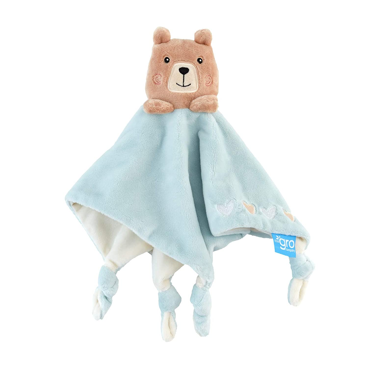 Grofriends Comforter Bennie The Bear Soft Toy Mayborn Group AKA0052