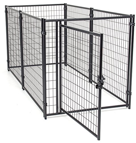 Dog Kennel - Lucky Dog Modular Box Kennel - This...
