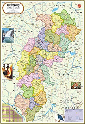 Buy Chhattisgarh Map : Hindi Book Online at Low Prices in ... on india cities map, india map state names, india map hinduism, india map indo-gangetic plain, india map bangla, india map delhi, india map asia, india map in tamil, india map gujarat, india map nepal, india map art, india map geography, india map rajasthan, india map punjabi, india map history, india map maharashtra, india map urdu, india map states and rivers, india map english, india map mumbai,