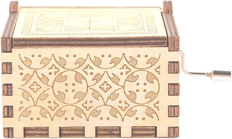 Raguso Caja de música de Caja Musical con manivela para Arte(Beauty and The Beast): Amazon.es: Hogar