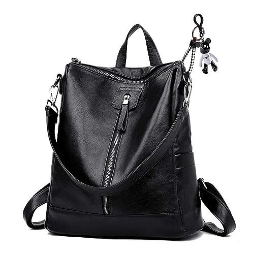 AINUOEY Womens Backpack Handbags Rucksack Shoulder Bags PU Leather Mini Kawaii Anti-theft