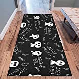 InterestPrint Home Contemporary Death metal texture and pattern Design Modern Runner Rug Carpet 10'x3'3''
