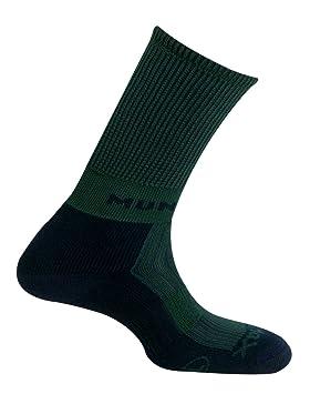 MUND Pirineos Calcetín de Trekking para Mujer, Verde, 34-37: Amazon.es: Zapatos y complementos