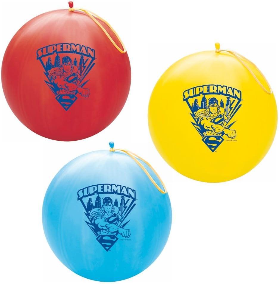Superman Punch Ball/2 pelotas de Punch Por pedido: Amazon.es ...