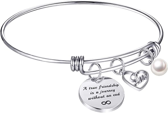 Engraved Personalized Photo Adjustable Bangle Hypoallergenic Surgical Steel