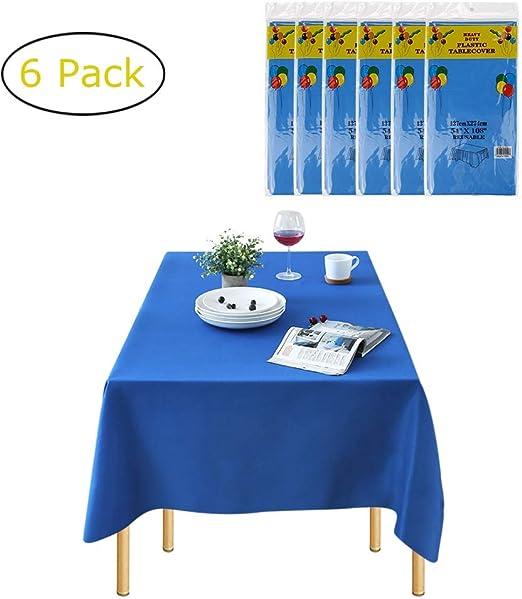 Chengtao Manteles de plástico para mesas rectangulares Mantel de ...