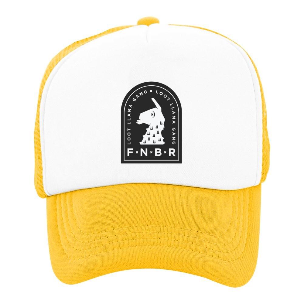 Kids Baseball Cap Loot Llama Gang - Fortnite Classic Mesh Outdoor Hat