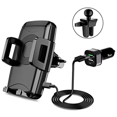 half off af663 97950 Miracase Wireless Car Charger, Car Mount Charger with Air Vent Phone ...