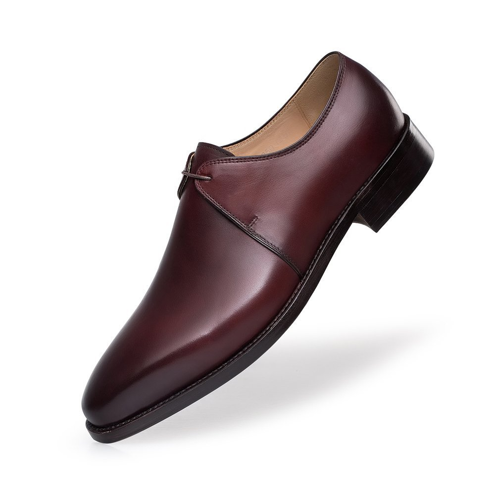 ZRO Men's Y8999 Brown Leather Formal Business Dress Shoes 6.5 M US