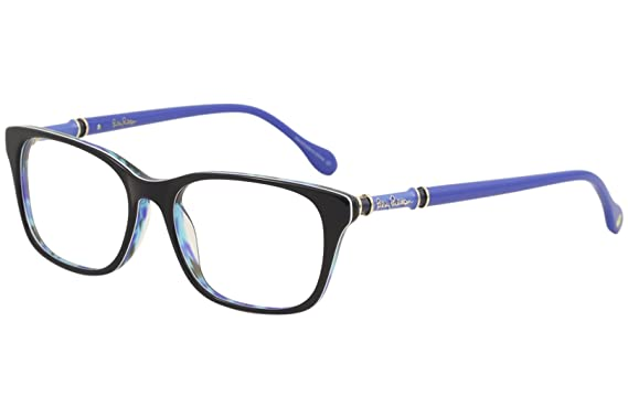 Amazon.com: Lilly Pulitzer Women\'s Eyeglasses Bailey SK Sky Tortoise ...