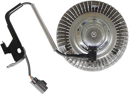 Embrague de ventilador de refrigeración de motor eléctrico para Dodge Ram Pickup Cummins Diesel 5.9L 6.7L 3282 2004-2009: Amazon.es: Coche y moto