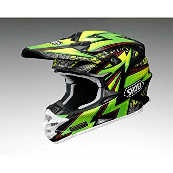 Casco Mx Shoei 2015 Vfx-W Mael Strom Tc4 Verde-Negro (S ,