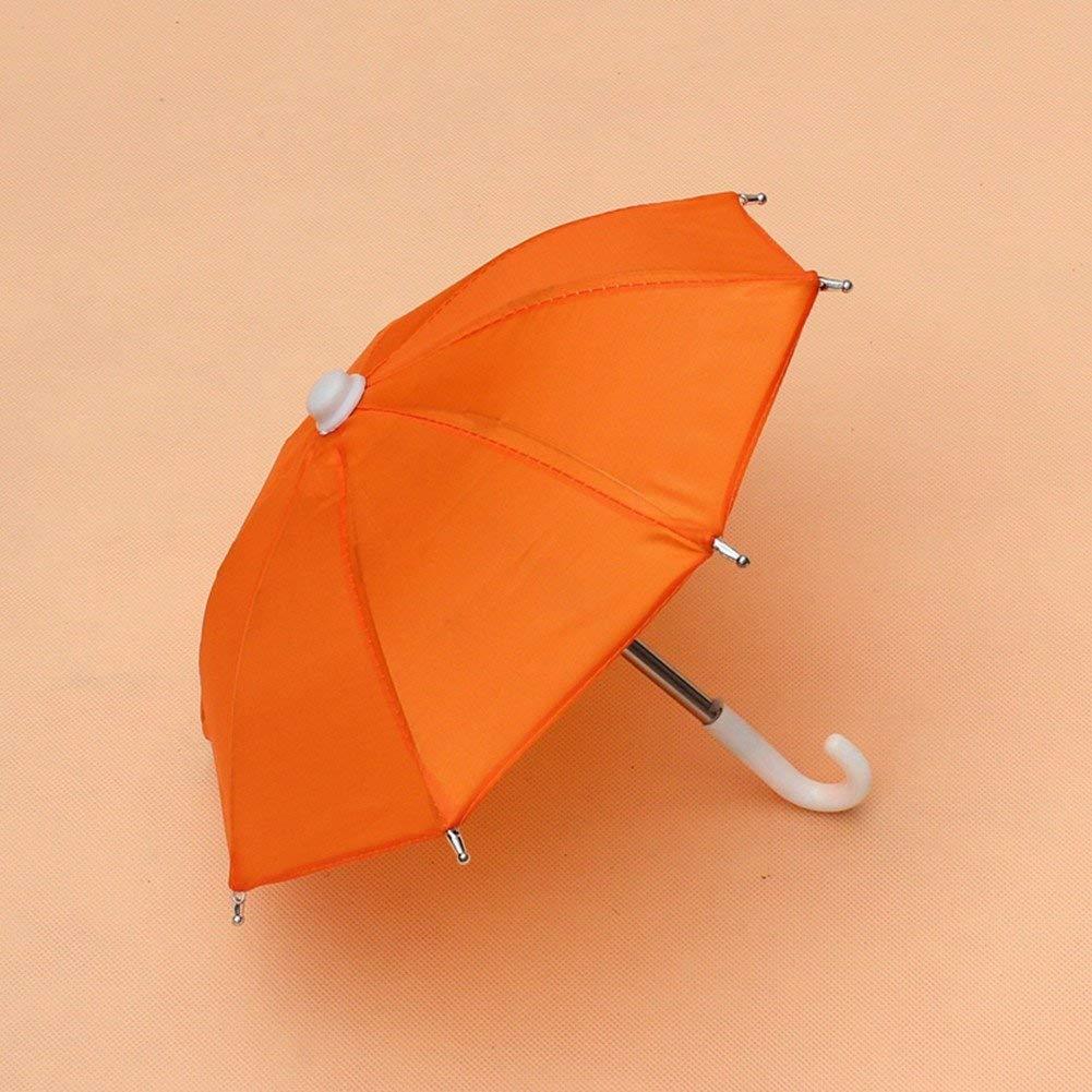 2pcs Couleur al/éatoire Zeagro Enfants Parapluie Parapluie d/écor/é Mini