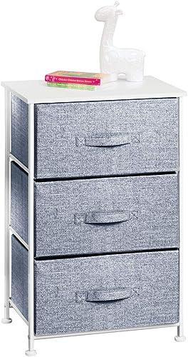 mDesign Vertical Dresser Storage Tower