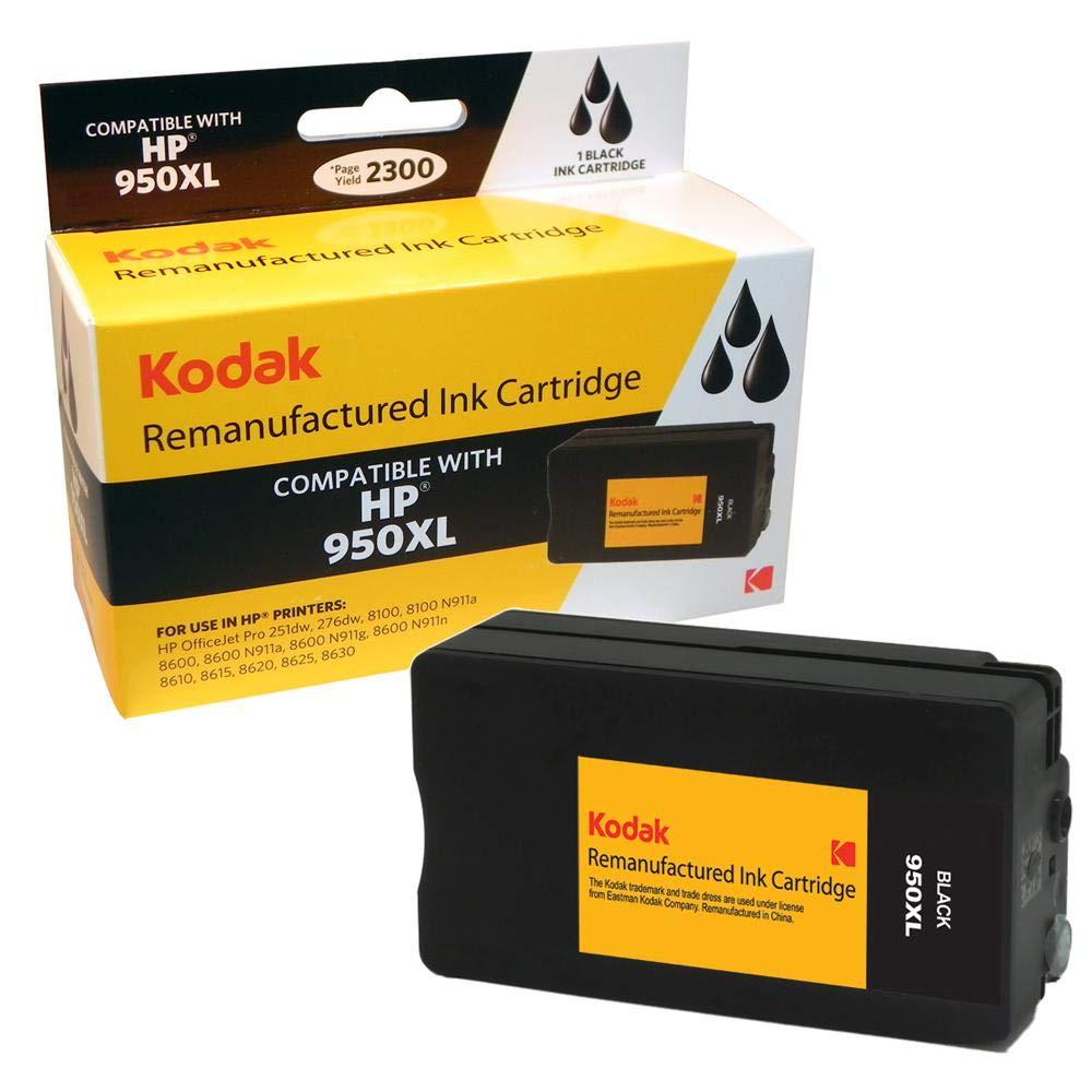 Kodak CN045AN-KD 2300páginas Negro cartucho de tinta - impresoras Cartucho de tinta para impresoras - (Negro, HP, 950 XL, Alto rendimiento (XL), 2300 páginas) 24aaa6