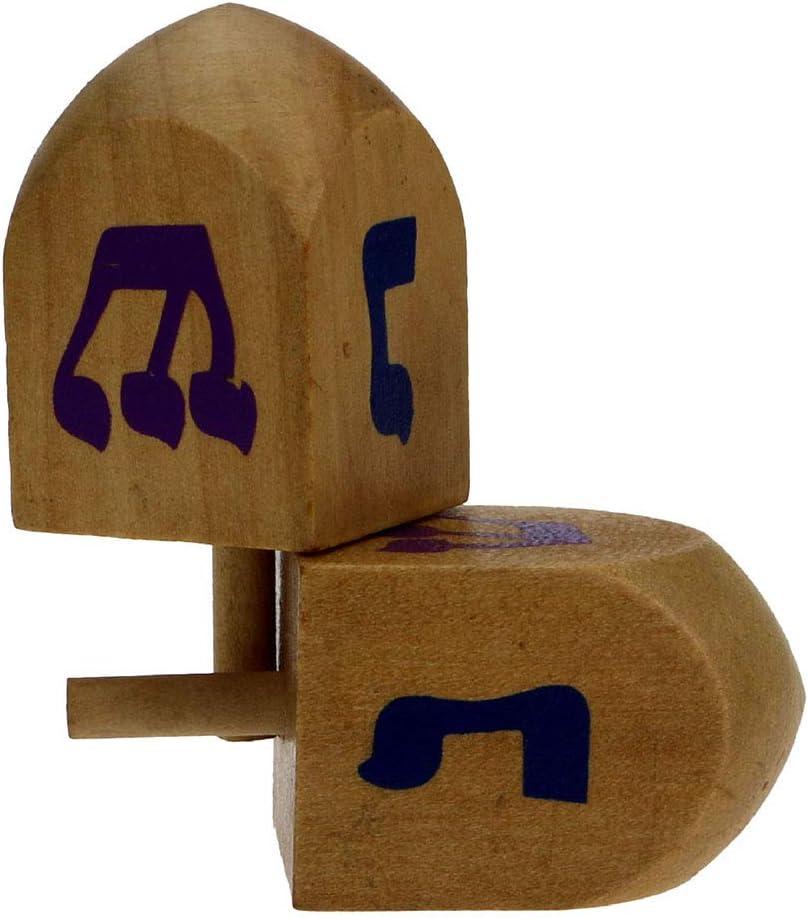 Trompos de Madera Regalos de Cumplea/ños Juguete Giroscopio Cl/ásico Juguetes para Aliviar el Estr/és para Ni/ños y Adultos Giroscopio de Escritorio 2 Piezas Trompos Pintados a Mano