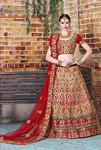 Hit Festival Party Wear Red Bridal Heavy Lehenga Choli Dupatta Salwar Suit  Ceremony Dress Ethnic Designer