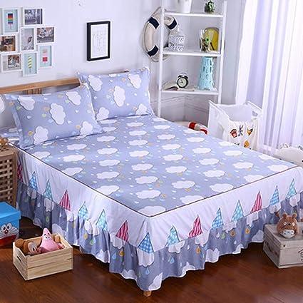 Amazon Com Bed Skirt Elastic Band Mattress Protector Printing