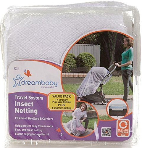 Travel System Insect netting for Strollers and Play Yards by Dreambaby