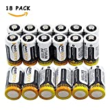 [UL and CE Approved ] Keenstone® CR123A Lithium Cylindrical Batteries,18-Pack