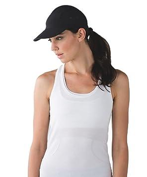 Lululemon - Race To Place Run Hat 2.0 - Black - O S  Amazon.co.uk ... 02094fc683b