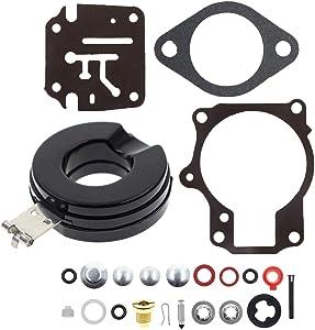 MOTOALL Carburetor Rebuild Repair Kit for Johnson Evinrude 18 20 25 28 30 35 40 45 48 hp 392061 396701 398729 with Floats