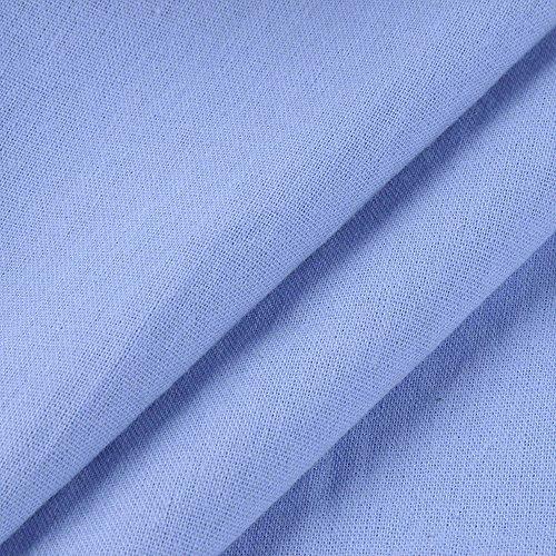 Larga Manga Camisas Algodón Largo Maxi para Vestido Lino Invierno Kaftan Casaul DAYLIN Azul Mujer Otoño qHIwXfBf