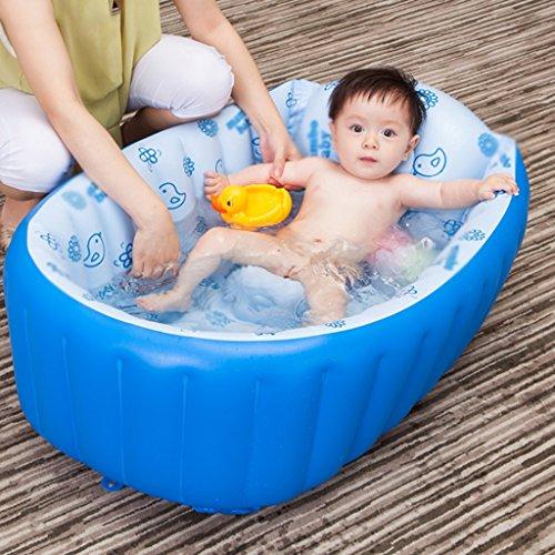 Baño Bañera Inflable Bañera Inflable para Bebés Material de PVC Ambiental Aislamiento Grueso Piscina para Recién Nacidos...