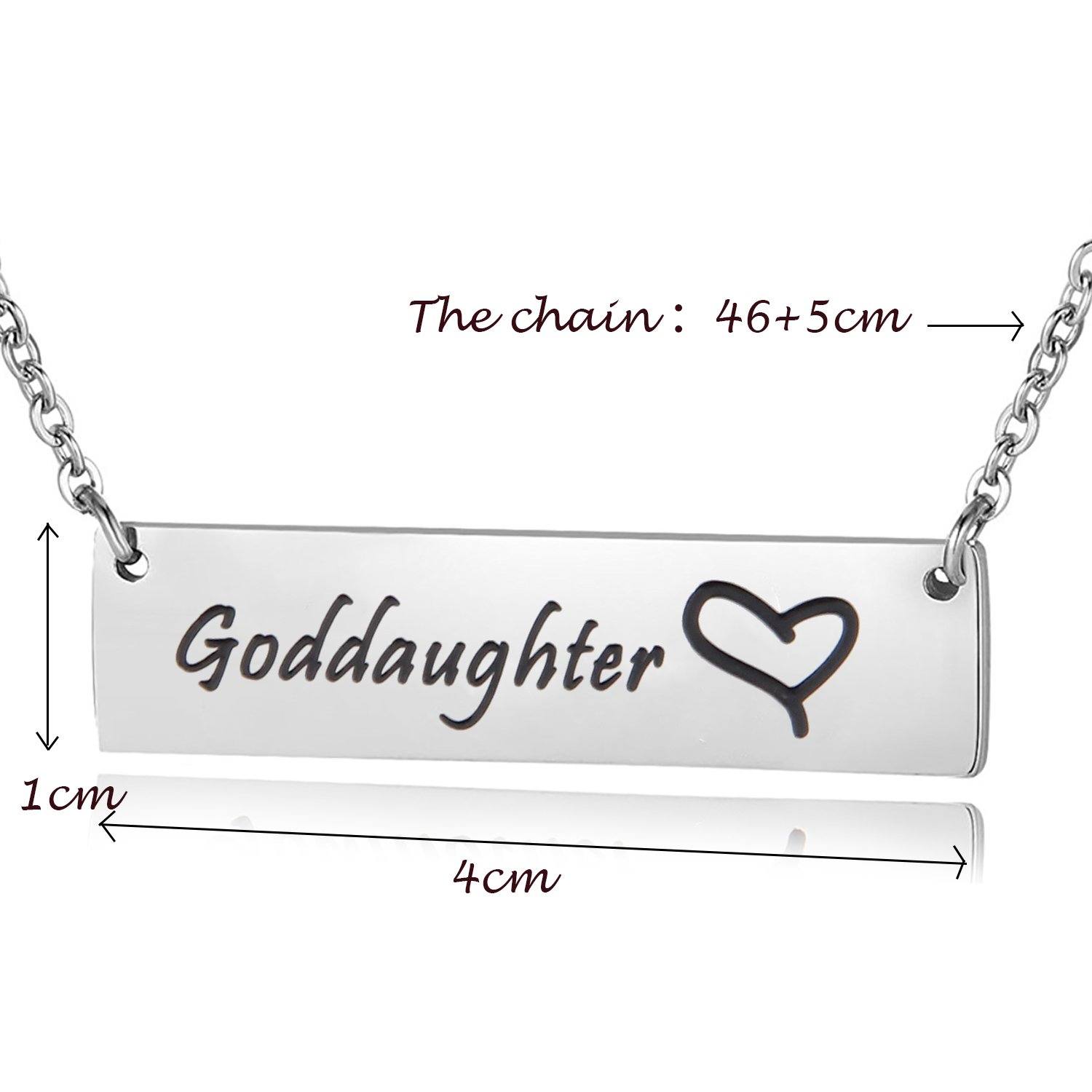 Amazon Ensianth Godmother Necklace Goddaughter Necklace Hand