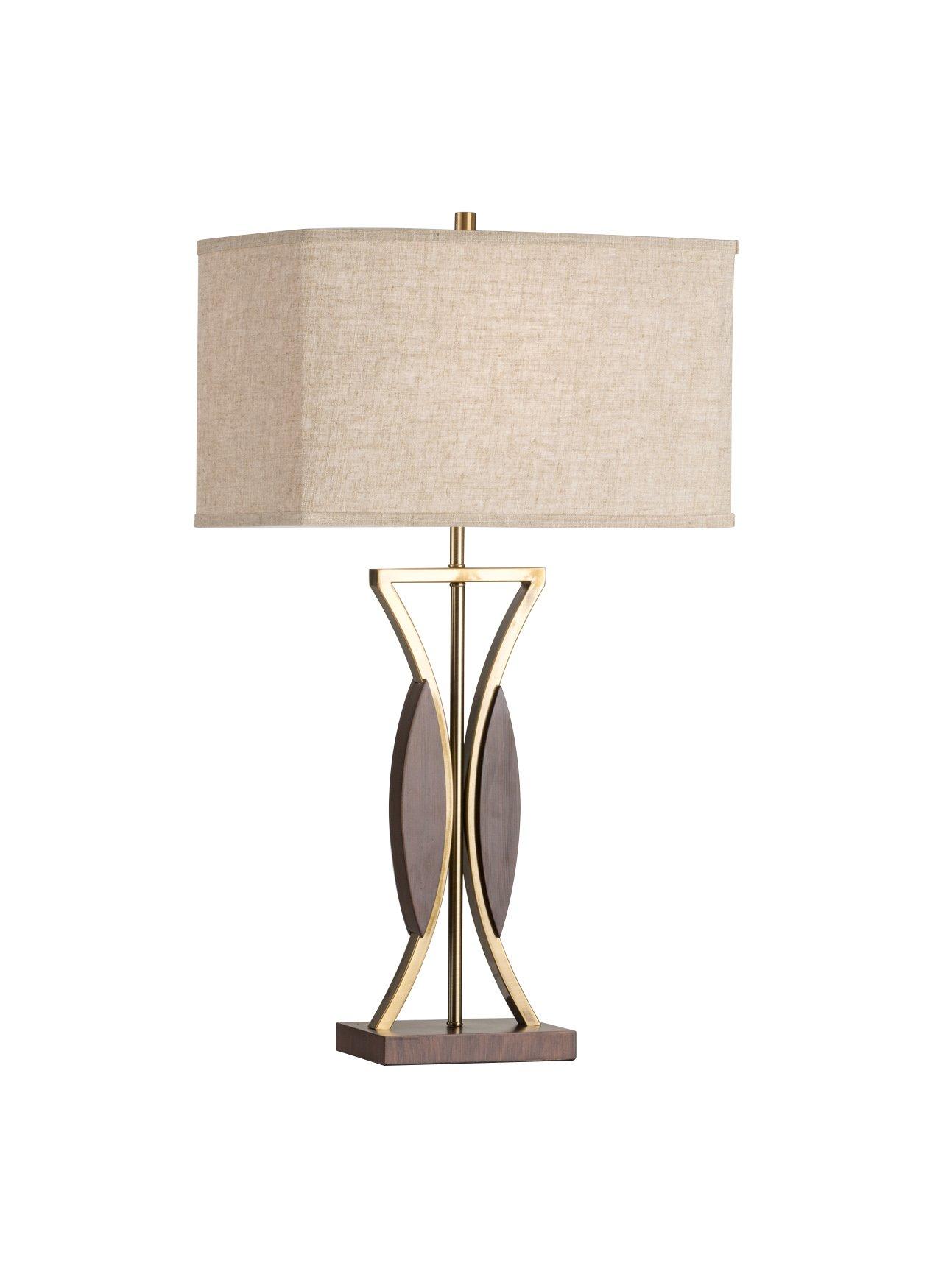 Nova Lighting Clessidra Contemporary Table Lamp, Rose Gold