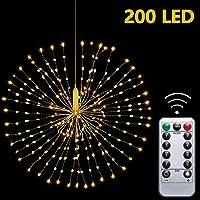 Colgando Fuegos Artificiales Luces de Hadas 200 LED