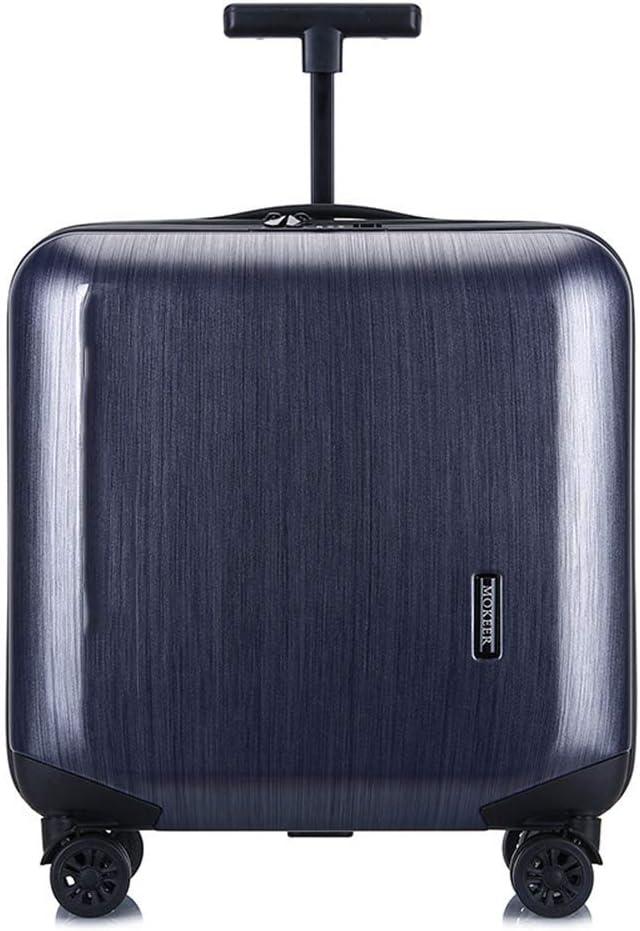 Trolley board -Grey 24-inch single-bar ultra-light explosion-proof, waterproof, wear-resistant zipper suitcase blue, gray