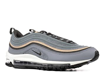 Nike Herren Air Max 97 Premium Grau TextilLeder Sneaker