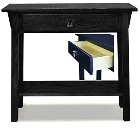 purchase cheap cf95c ebcee Amazon.com: Entryway Narrow Table with Open Shelf and Drawer ...